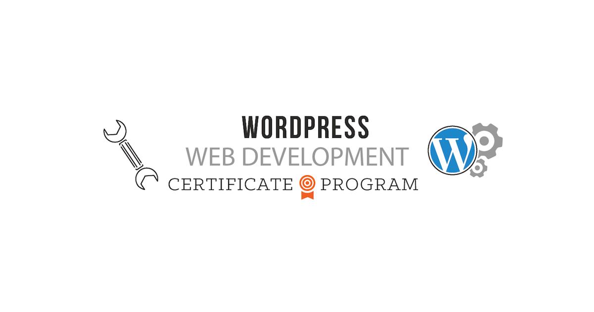 WordPress Web Development Certificate Program - presented by Boulder ...
